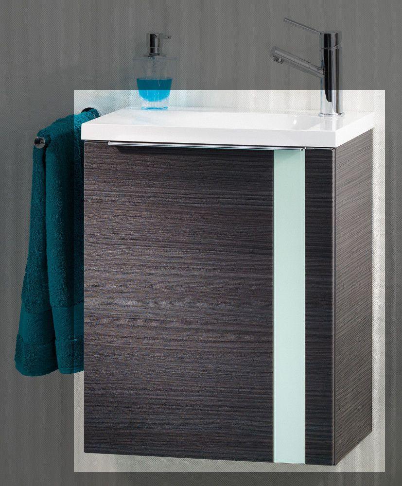 Lanzet Vedro Gäste-WC 50 cm rechts, Dark Oak - Mint Jetzt bestellen ...