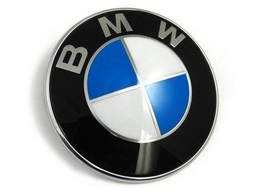 emblème // insigne // badge Logo de capot // coffre BMW 51148132375 82mm