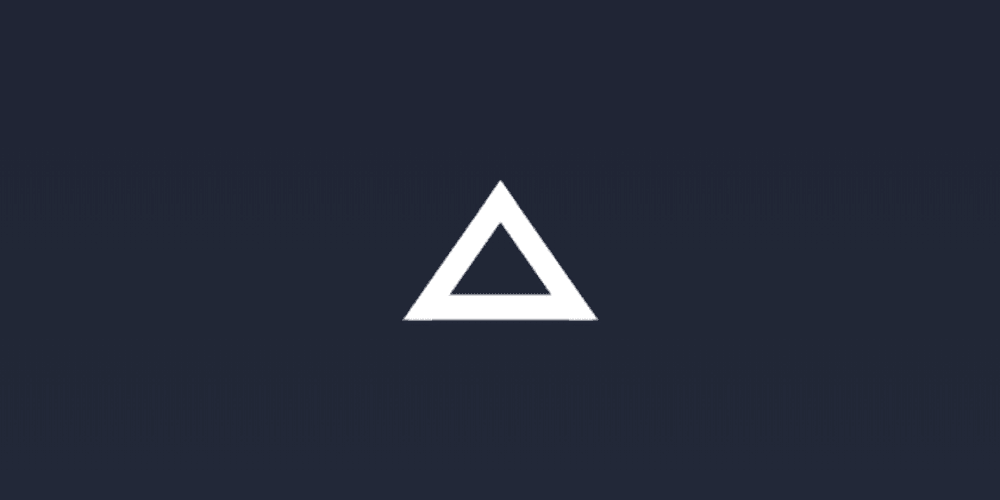Pure Css Outlined Triangle Using Only Borders In 2020 Css Triangle Outline