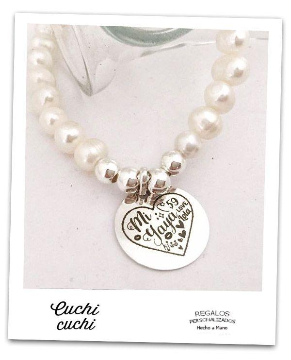 fb215795046b pulseras yaya te quiero mucho regalos personalizados originales para abuelas