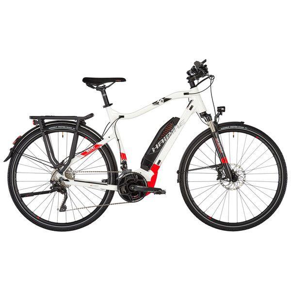 Bicicletta Ibrida Elettrica Haibike Sduro Trekking 60 Biancorosso