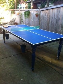 pictures building ping pong table chicago diy examiner com