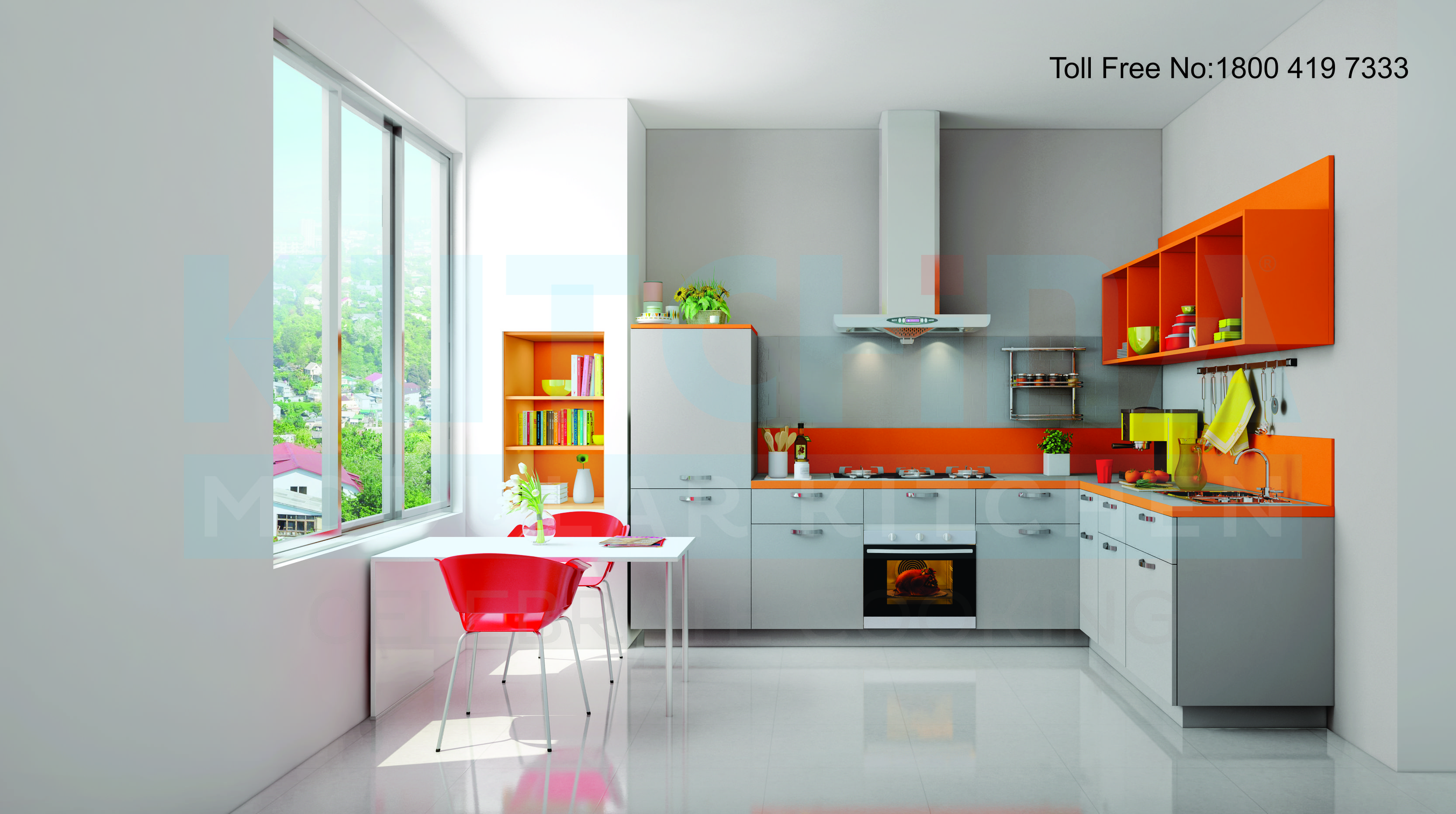 Kutchina Modular Kitchens comes with latest design and durable ...