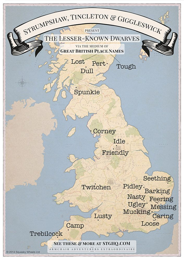 Funny UK Place Names