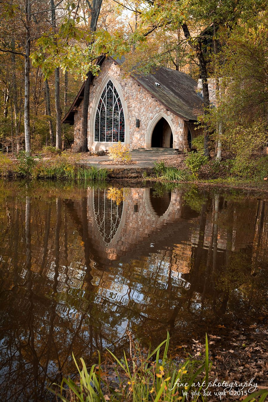 Reflections of Fall at Callaway Gardens in Pine Mountain, Georgia ...