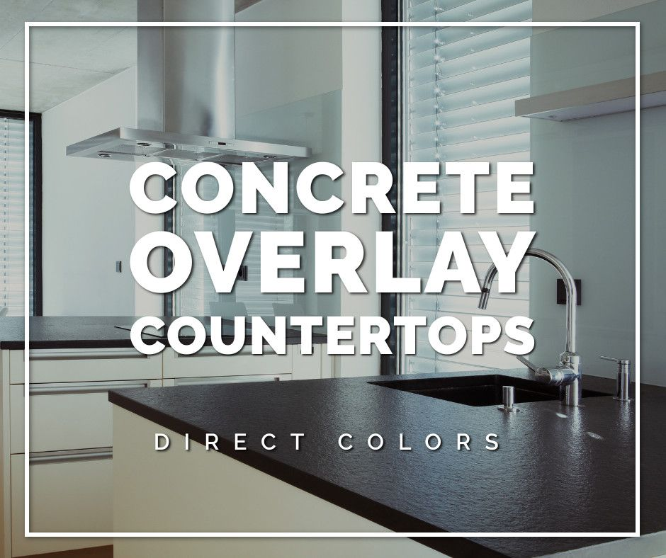 Concrete Countertop Overlay in 2020 (With images