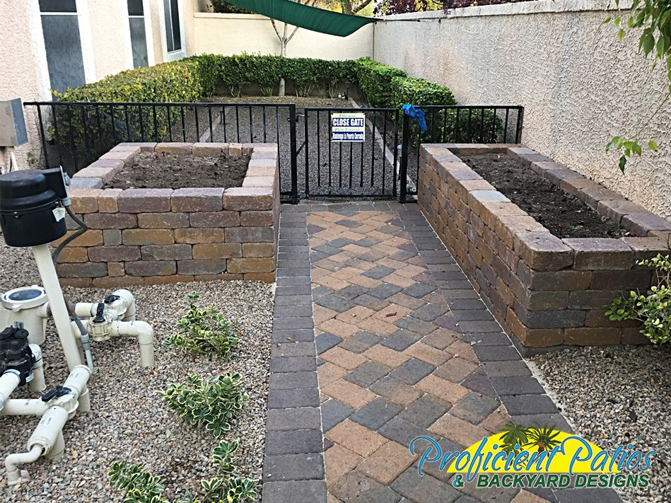 Proficient Patios U0026 Backyard Designs Specializes In The Design And  Installation Of Pavers And Retaining Walls. We Can Help With All Your Las  Vegas Hardscape ...