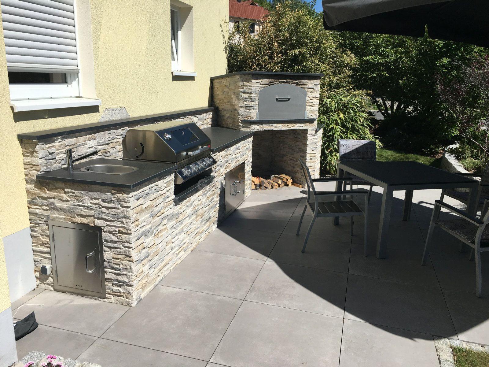 Steine Für Außenküche : Projekt außenküche seite grillforum und bbq