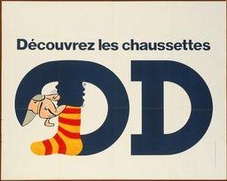 Découvrez les chaussettes DD - 1975 -