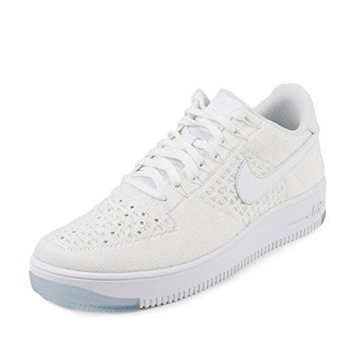 sale online timeless design later NEW NIKE AIR FORCE 1 ULTRA FLYKNIT LOW ICE WHITE SHOES ...