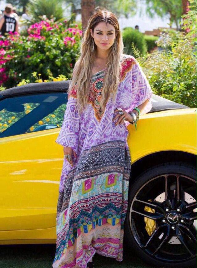 Vanessa Hudgens. Coachella.