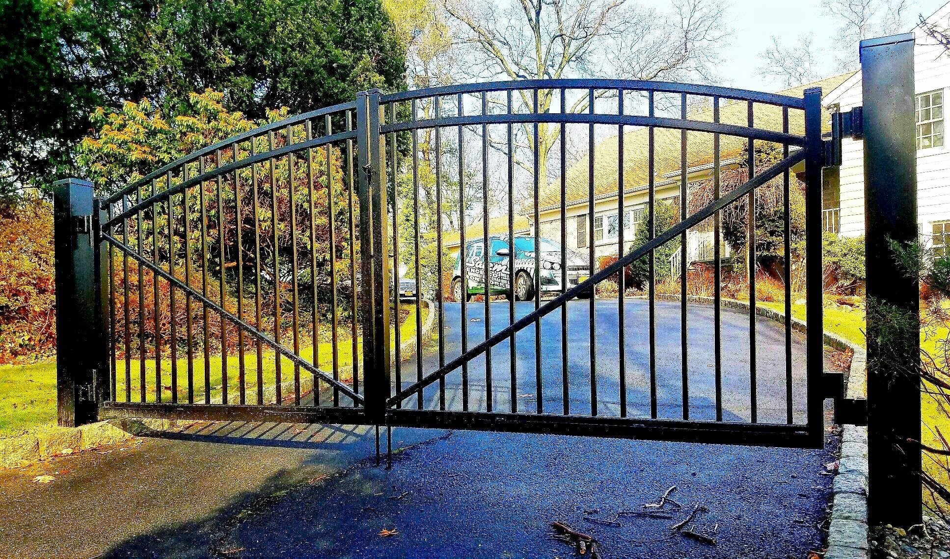 3 Rail Aluminum Driveway Gate Aluminum Fence Aluminum Driveway Gates Estate Gates