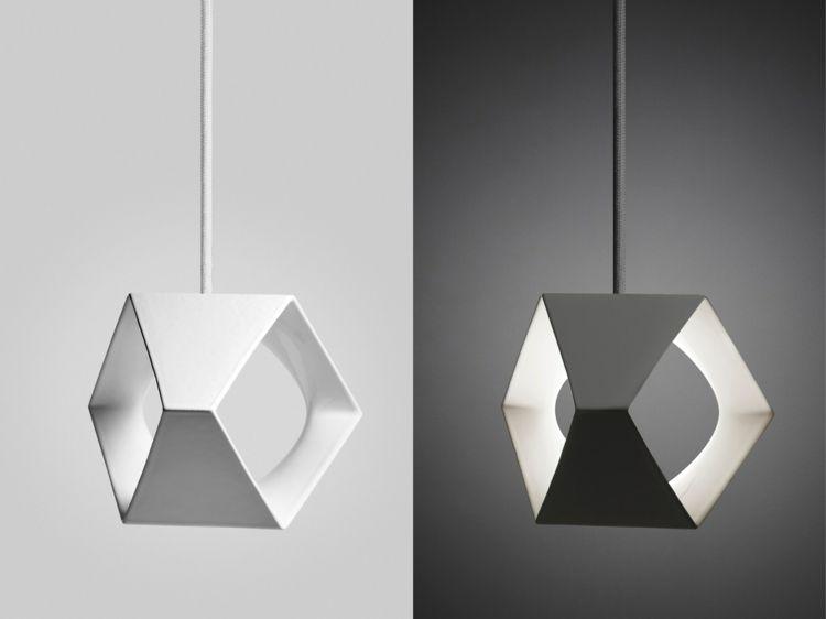 Lampen Aus Keramik Originelle Pendelleuchten Aus Dem 3d Drucker Lampen Beleuchtungsideen Und Licht Und Architektur