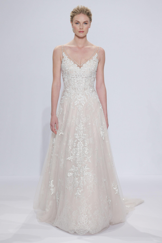 Christmas wedding dress korean - Randy Fenoli Spring 2018 Bridal Week