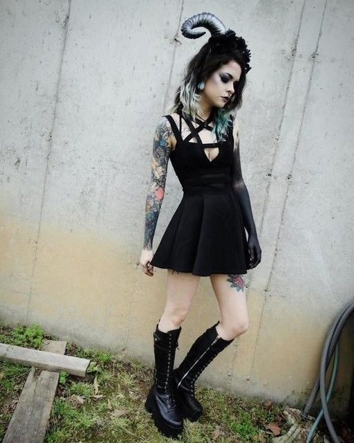 888f9202a0e56  modifieddoll stunnin in our Current Mood Jane Doe Boots!! http