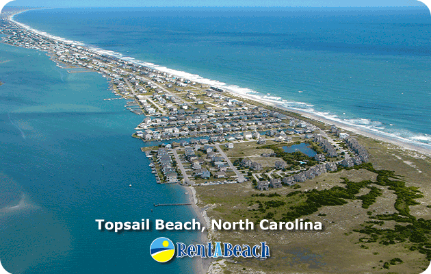 Topsail Beach Nc Town Is A Quiet