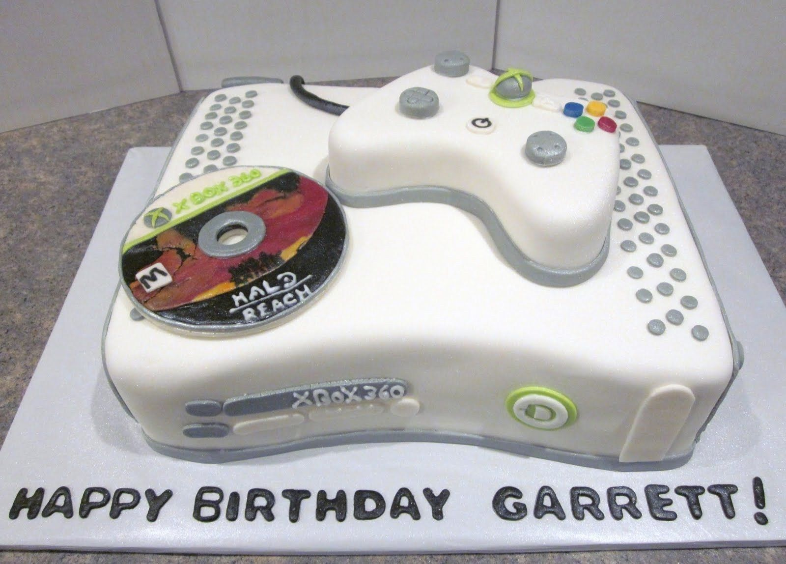 27 Best Image Of Xbox Birthday Cake With Images Xbox Cake