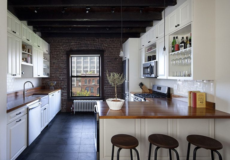 Exposed Brick Brooklyn Style Interior Design Inspiration