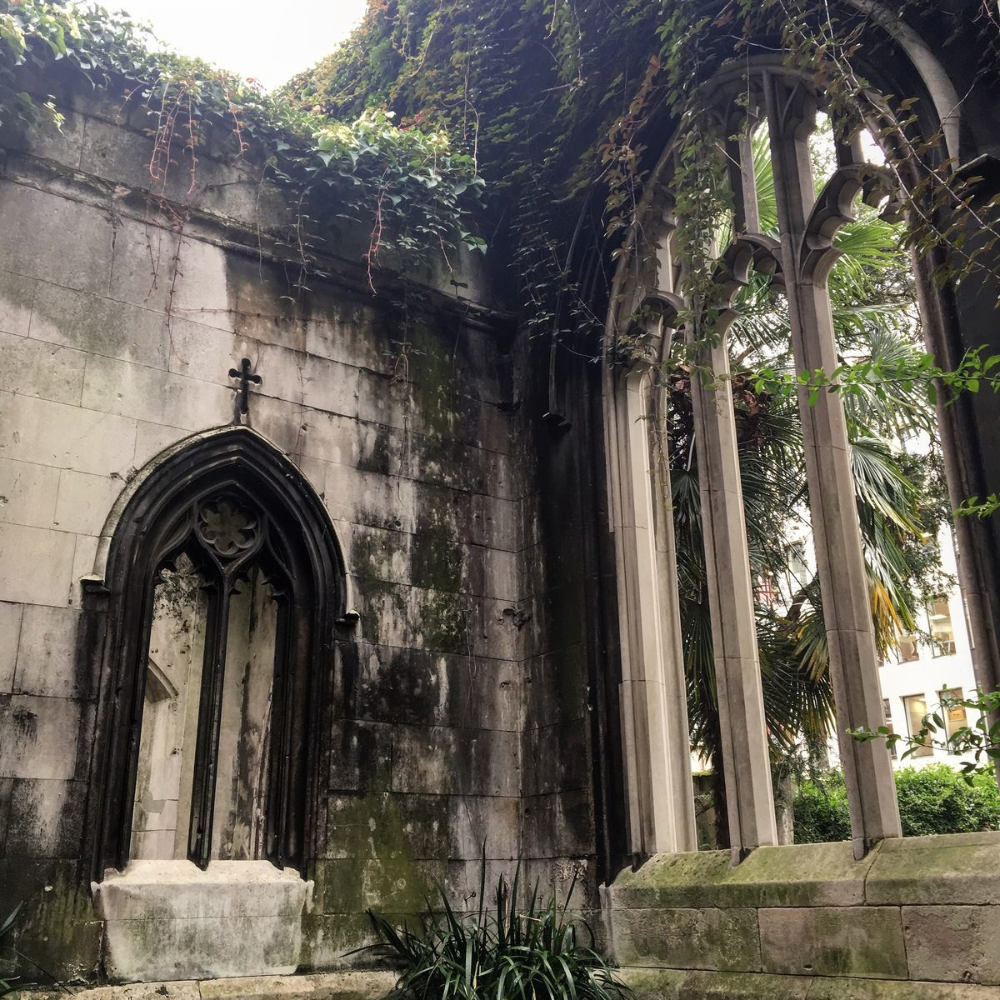 The Ruins Of St. Dunstan-in-the-East In 2020