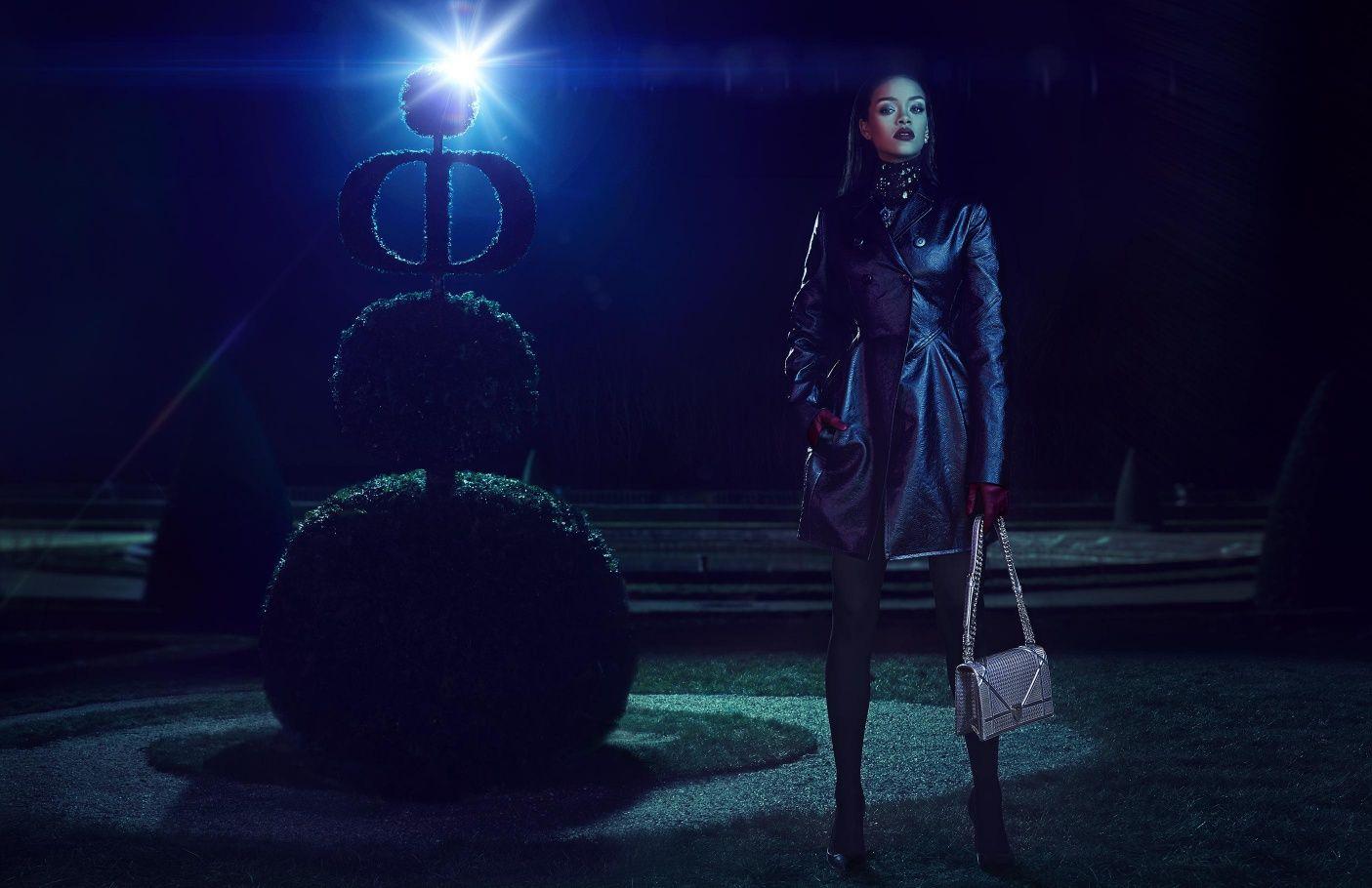 Rihanna for Dior - The Secret Garden campaign