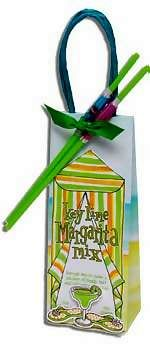 Key Lime Margarita Drink Mix Wedding Favors