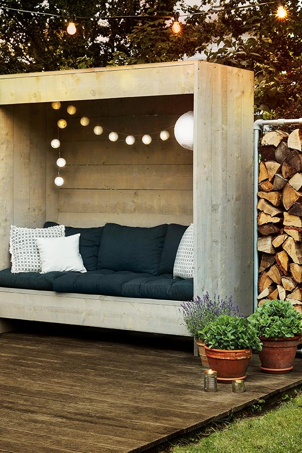 DIY Outdoor Möbel