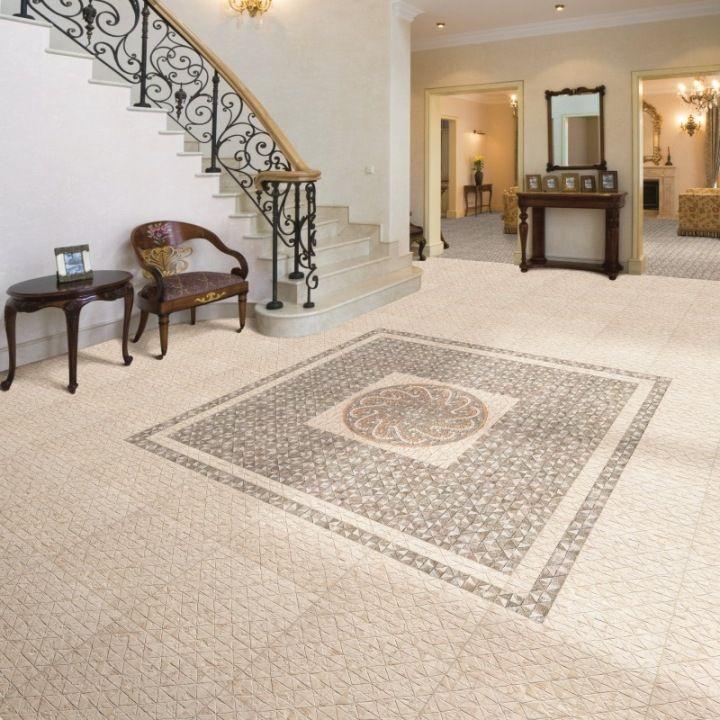 Agadir Moroccan Tiles Decorative Grey Floor Decor Moroccan