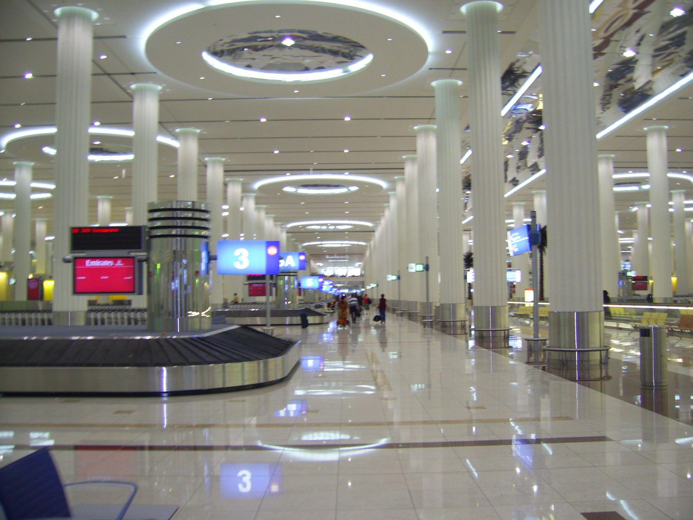 Baggage claim, Terminal 3, Dubai International Airport