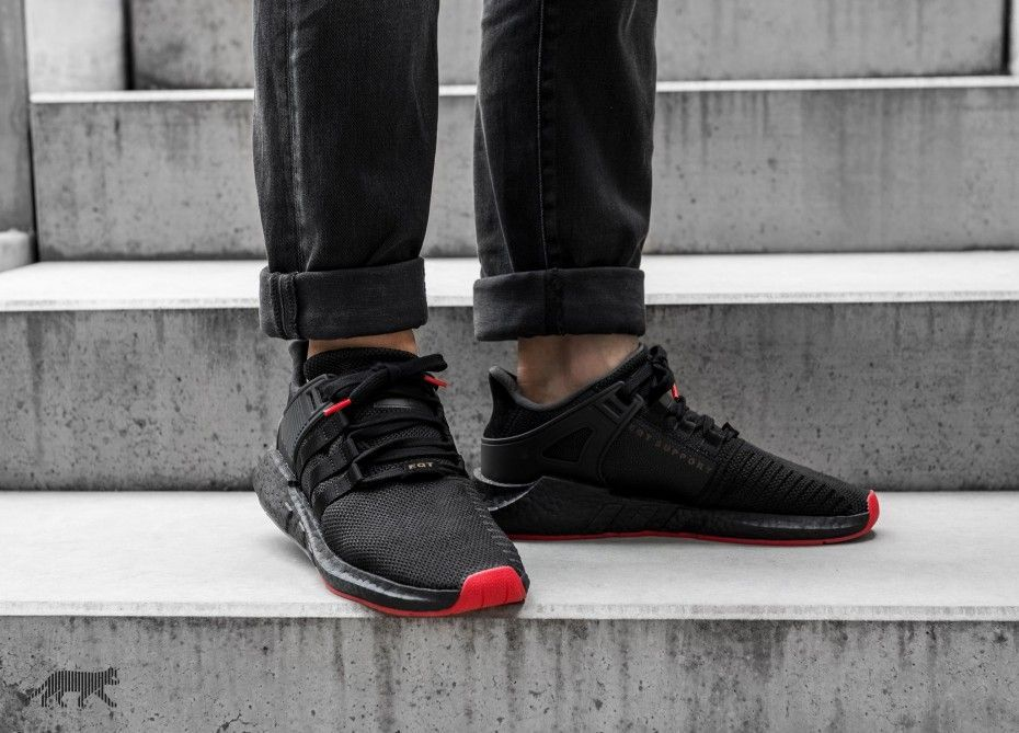 adidas eqt nero and red