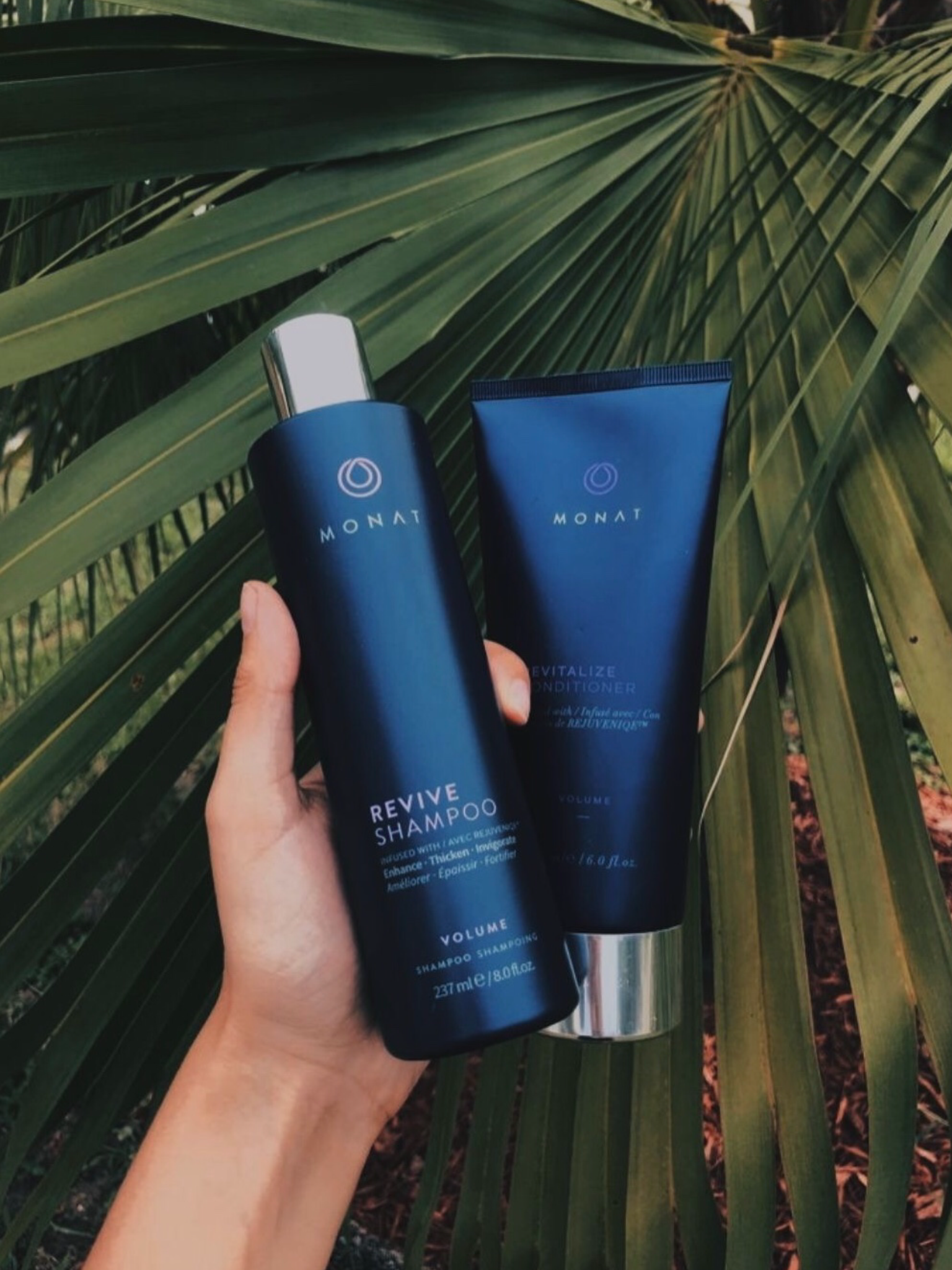 MONAT - Shampoo and conditioner