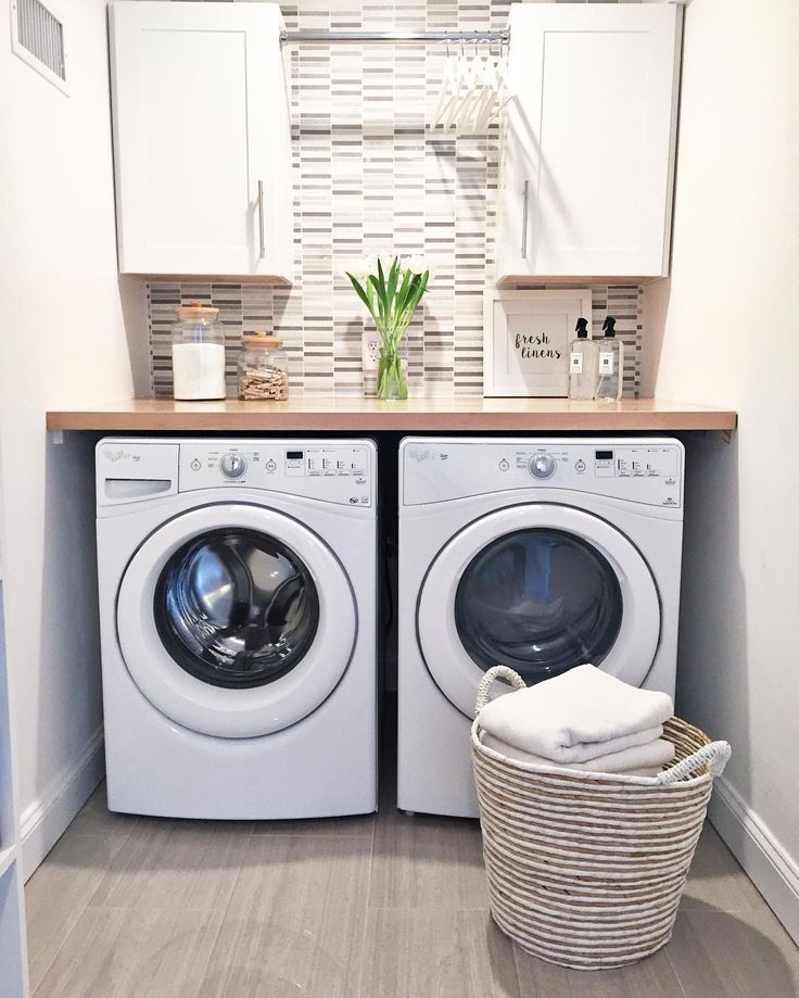DIY Laundry Room Cabinet Storage Selves Ideas For Small Rooms #LaundryRoom #cabinet #Basement #Ideas #storage #Makeover #Organization #laundryrooms