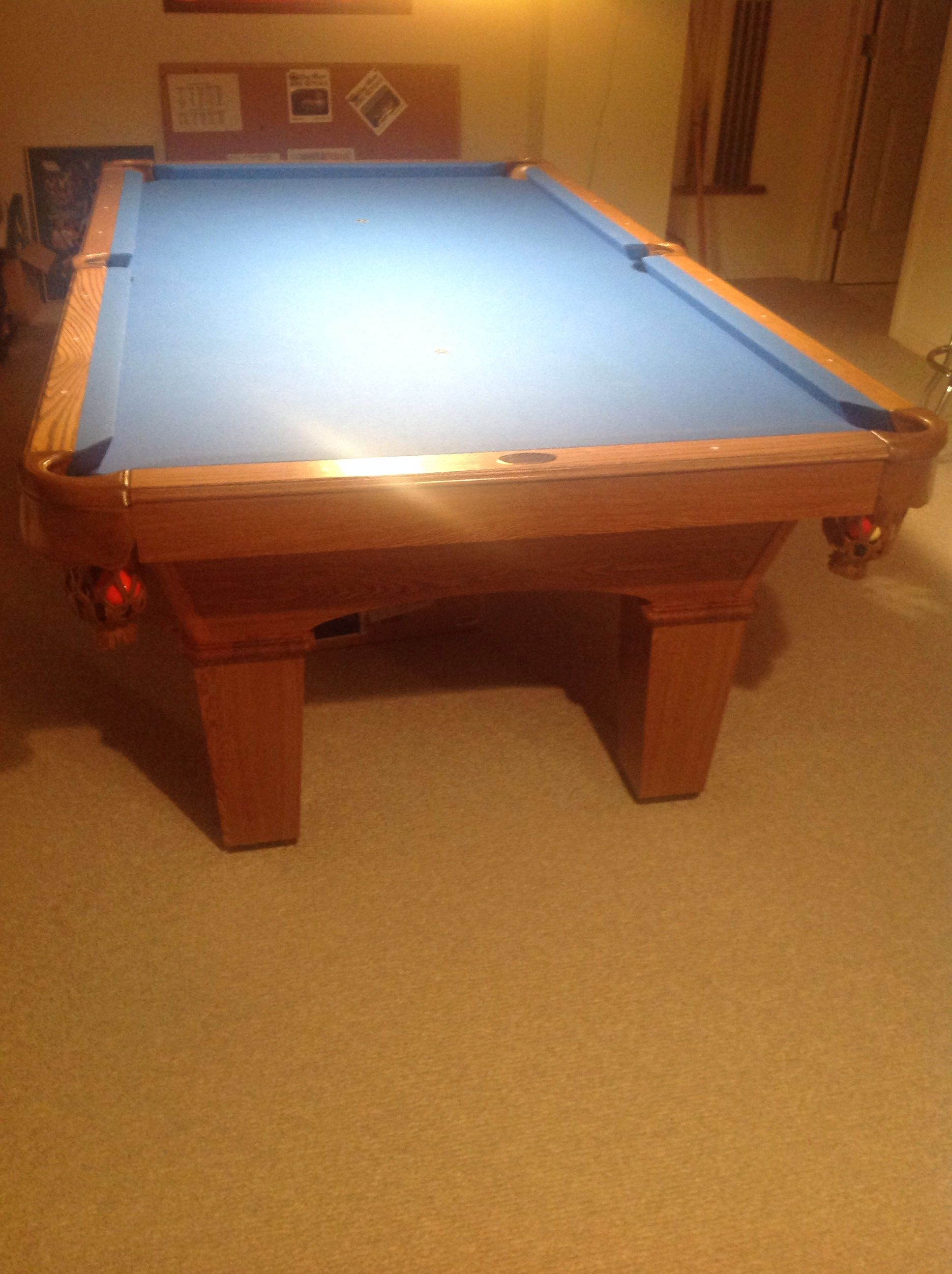 Pool Table In Bridgies Garage Sale Milford MI Garage Sale Sports - Pool table sizes and prices