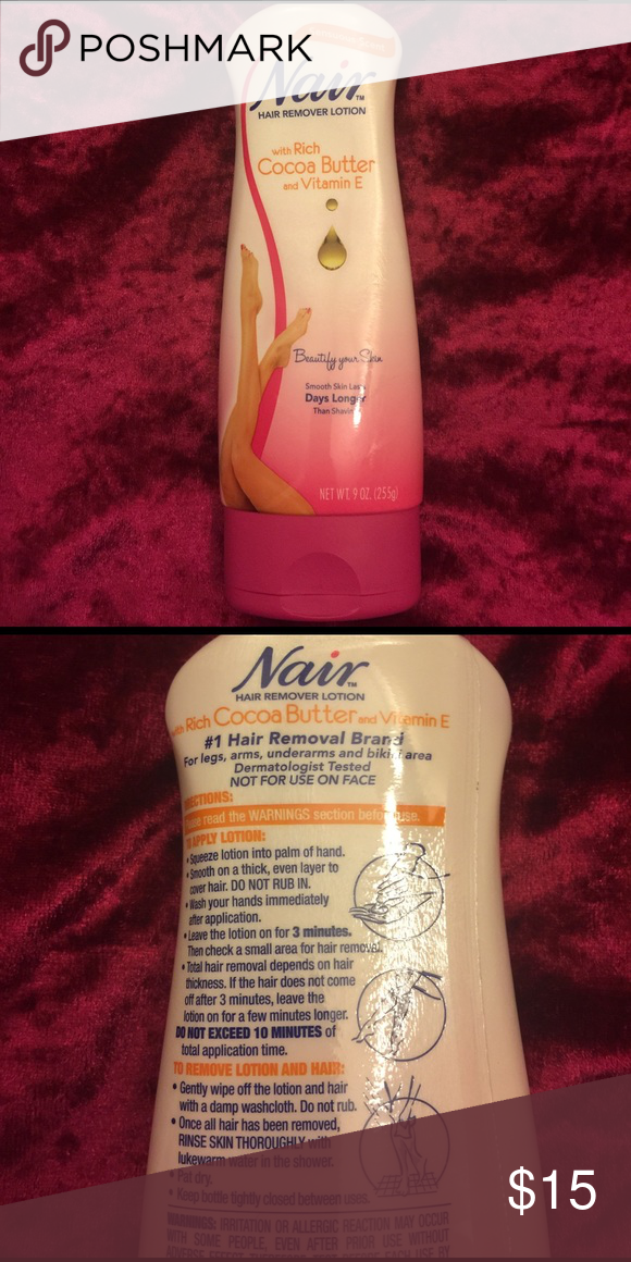 Hair Removal Lotion Nair Hair Removal Lotion With Cocoa Butter And
