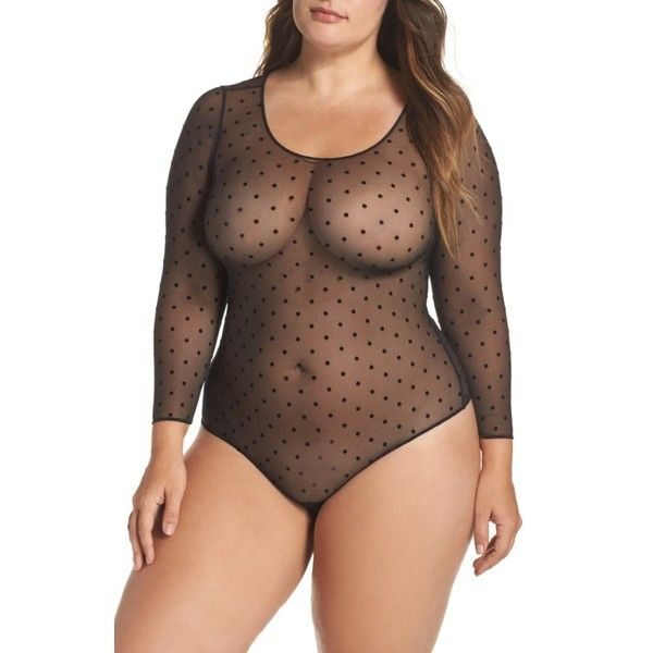 9f01f68bc1c Plus Size Women s Spanx Thong Bodysuit ( 58) ❤ liked on Polyvore featuring plus  size women s fashion