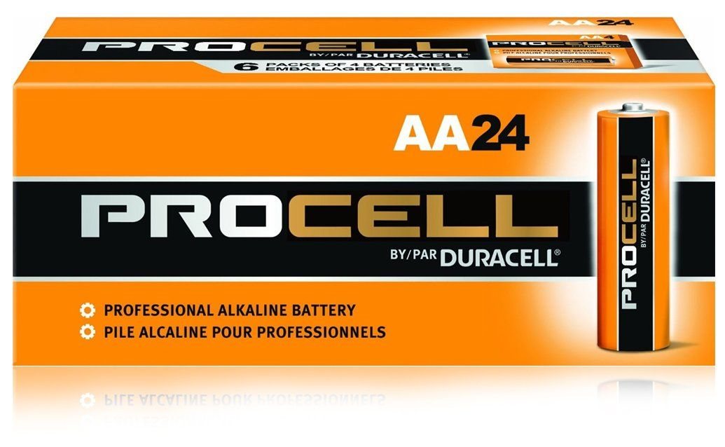 Duracell Procell Aa 24 Pack Pc1500bkd09 Aa Procell Duracell Pack Duracell Packing Batteries
