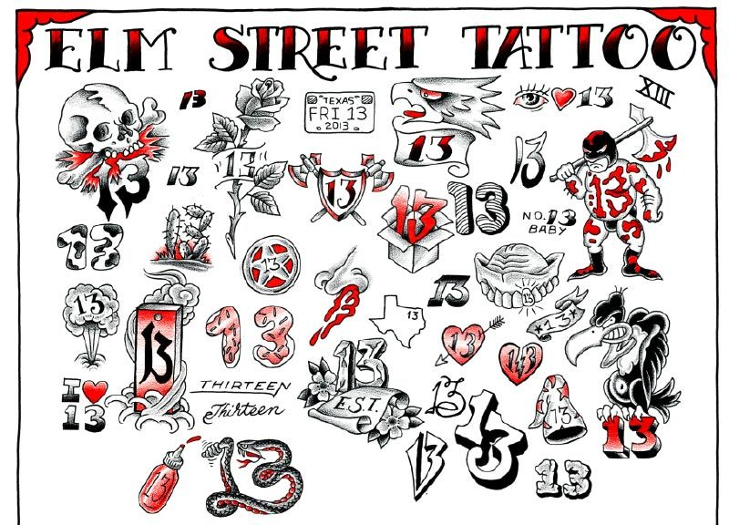 Pin By Bailea Wise On Tattoos Friday The 13th Tattoo 13 Tattoos