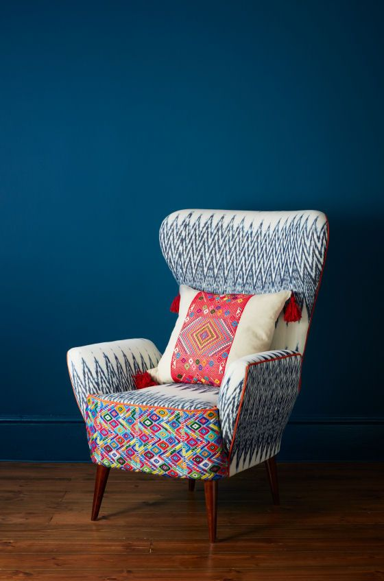 The Maya Collection By A Rum Fellow Wing Chair Cheap