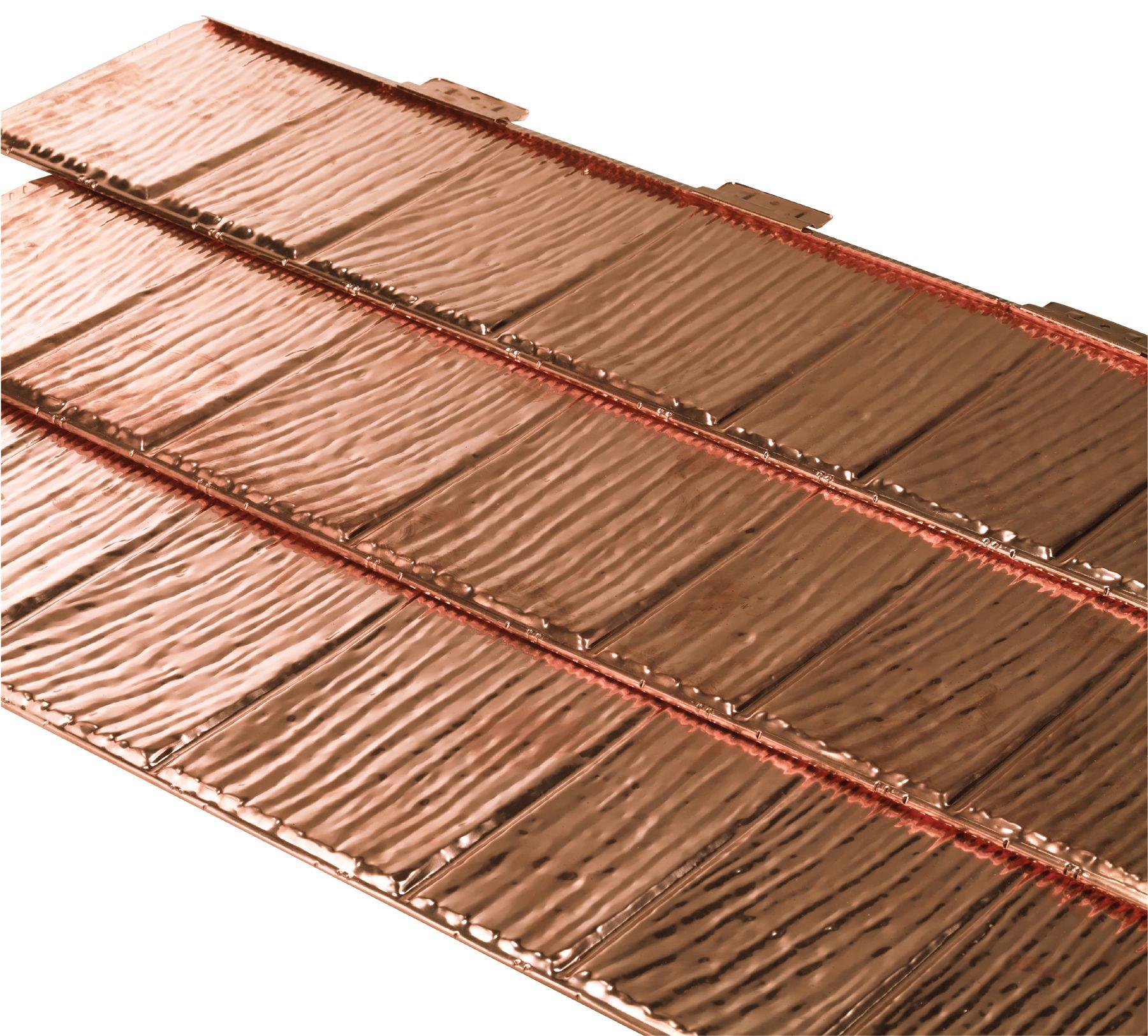Copper Metal Shingles Roof Google Search Metal Shingle