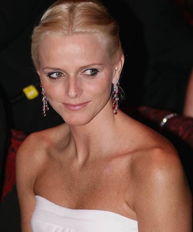 Charlene Wittstock attends the Red Cross ball on July 27, 2007 in Monte Carlo, France. (Photo by Pool/Getty Images)