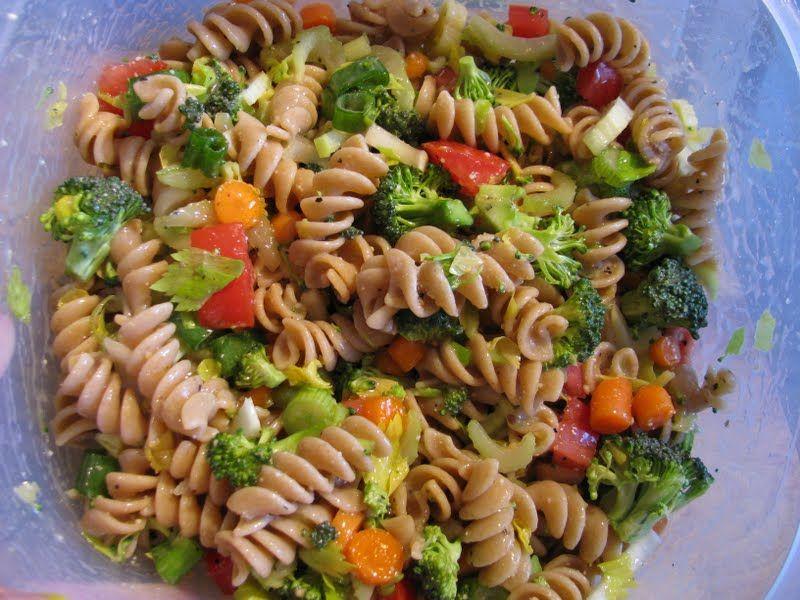 Summer Pasta Salad 6 Oz Whole Wheat Pasta Ronzoni Rotini