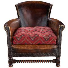 Leather Bothy Armchair
