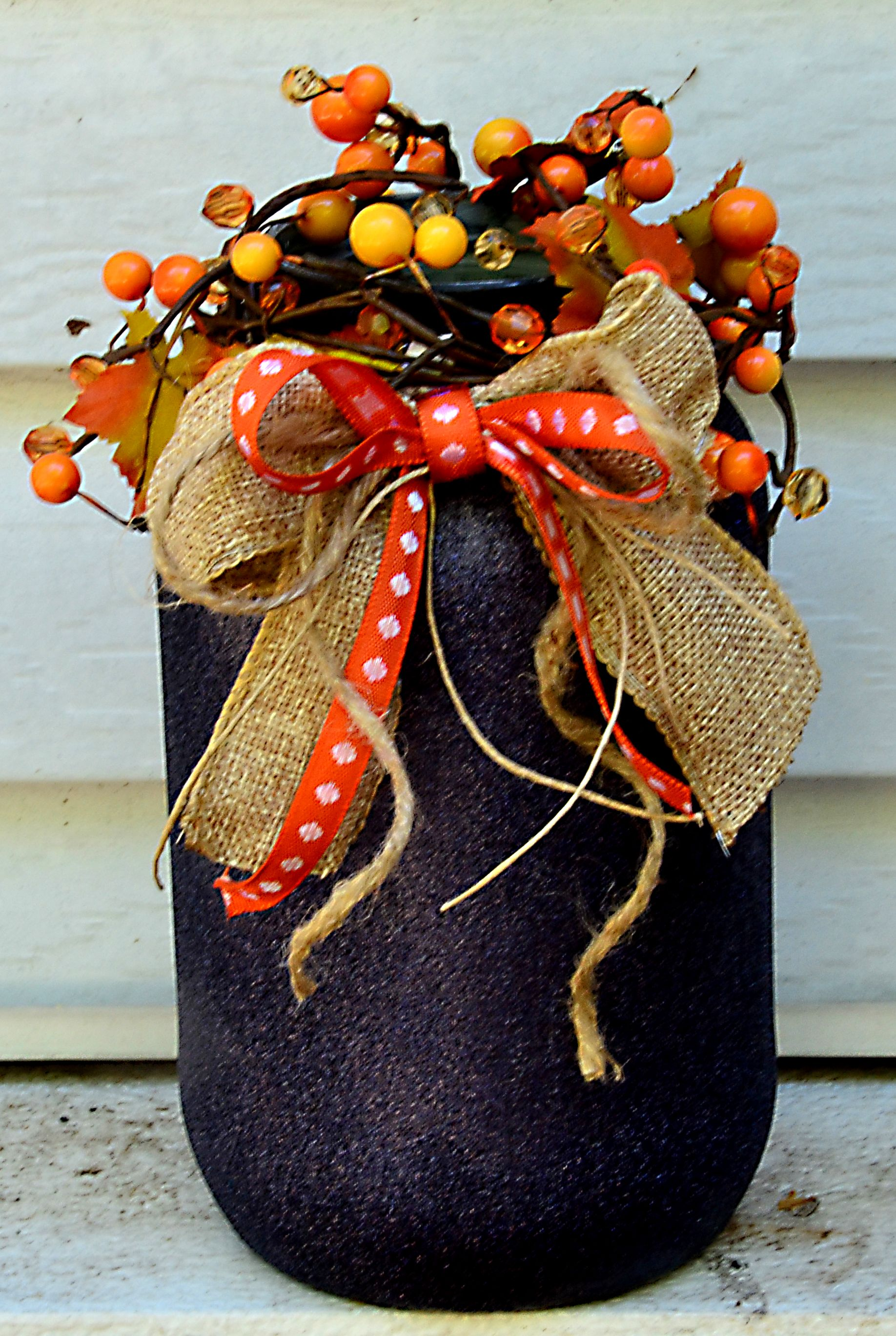 Fall centerpiece by moore than crafty moorethancrafty