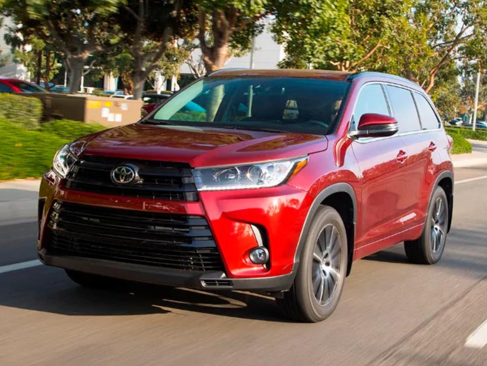 12 Best Family Cars 2019 Toyota Highlander Best Family Cars