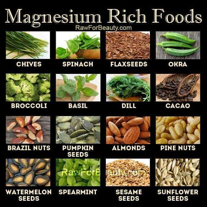 www.GreenSmoothies.ca Raw cacao is my favorite Magnesium source ---> http://www.greensmoothies.ca/raw-chocolate.php ♡♡♡ What's yours?
