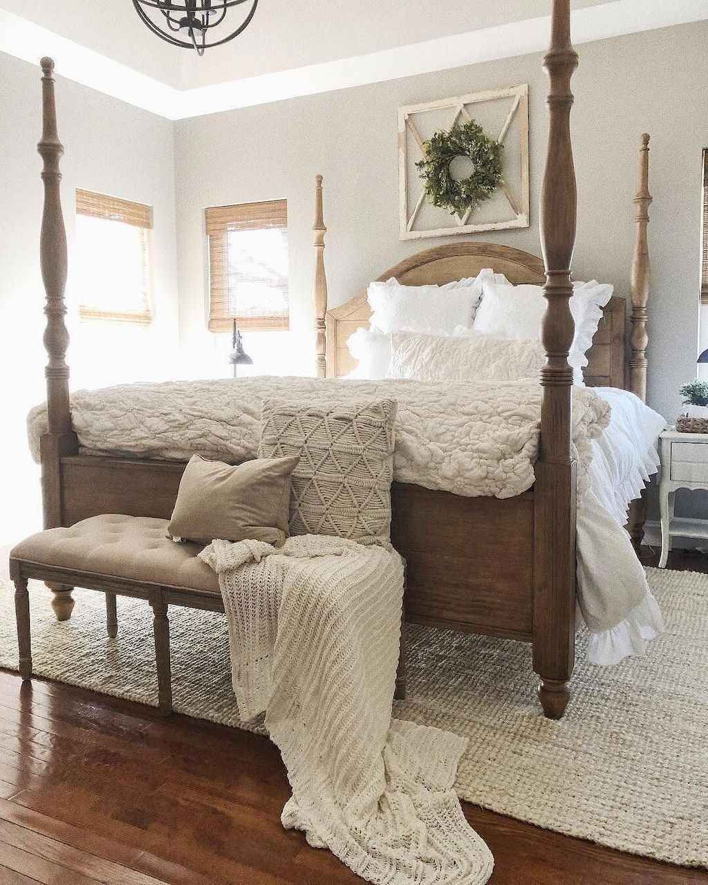 75 urban farmhouse master bedroom decor ideas in 2020 on modern farmhouse master bedroom ideas id=16588