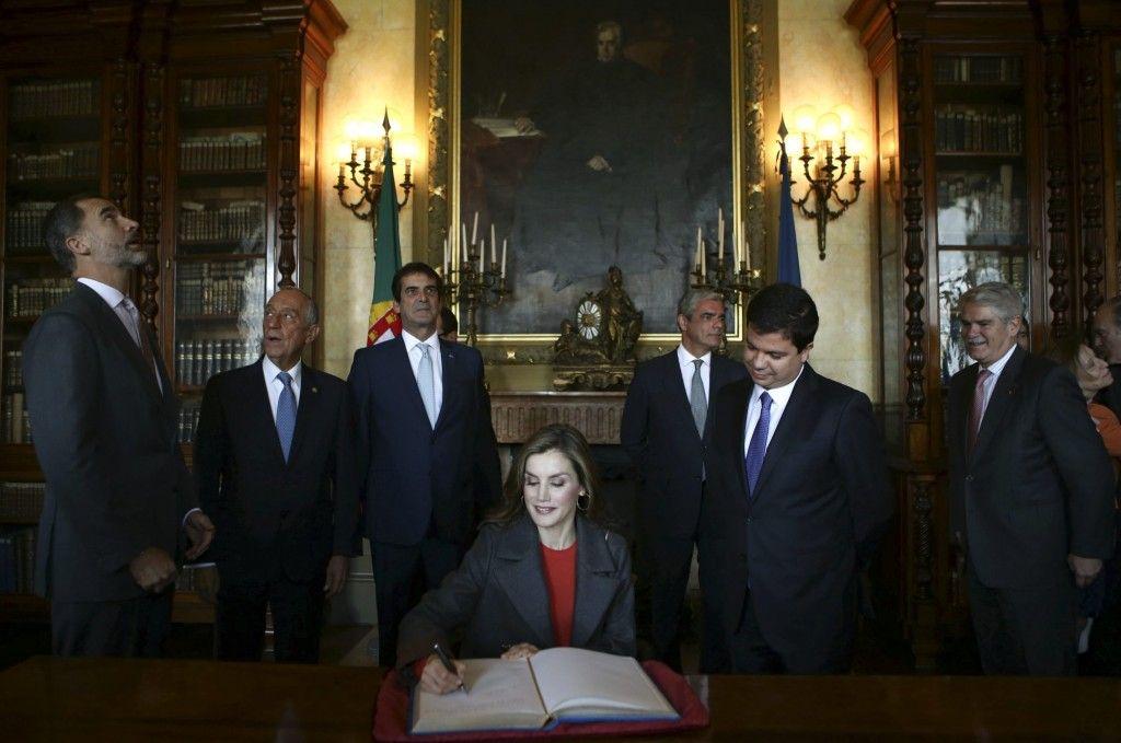 King Felipe and Queen Letizia Visit Portugal – Day 2 - Palácio da Bolsa