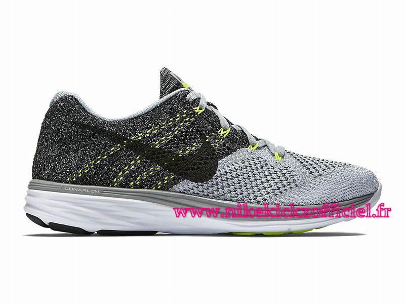 Site Nike Flyknit Lunar 3 Chaussures Officiel Nike Pour Homme Gris/Blanc/ Noir…