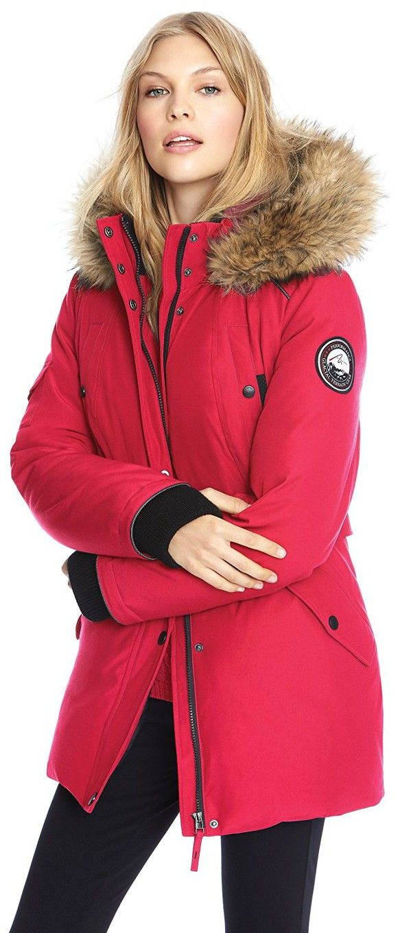 a2b1c3822467 Alpinetek Women's Mid-Length Down Parka | Fashion World in 2019 ...