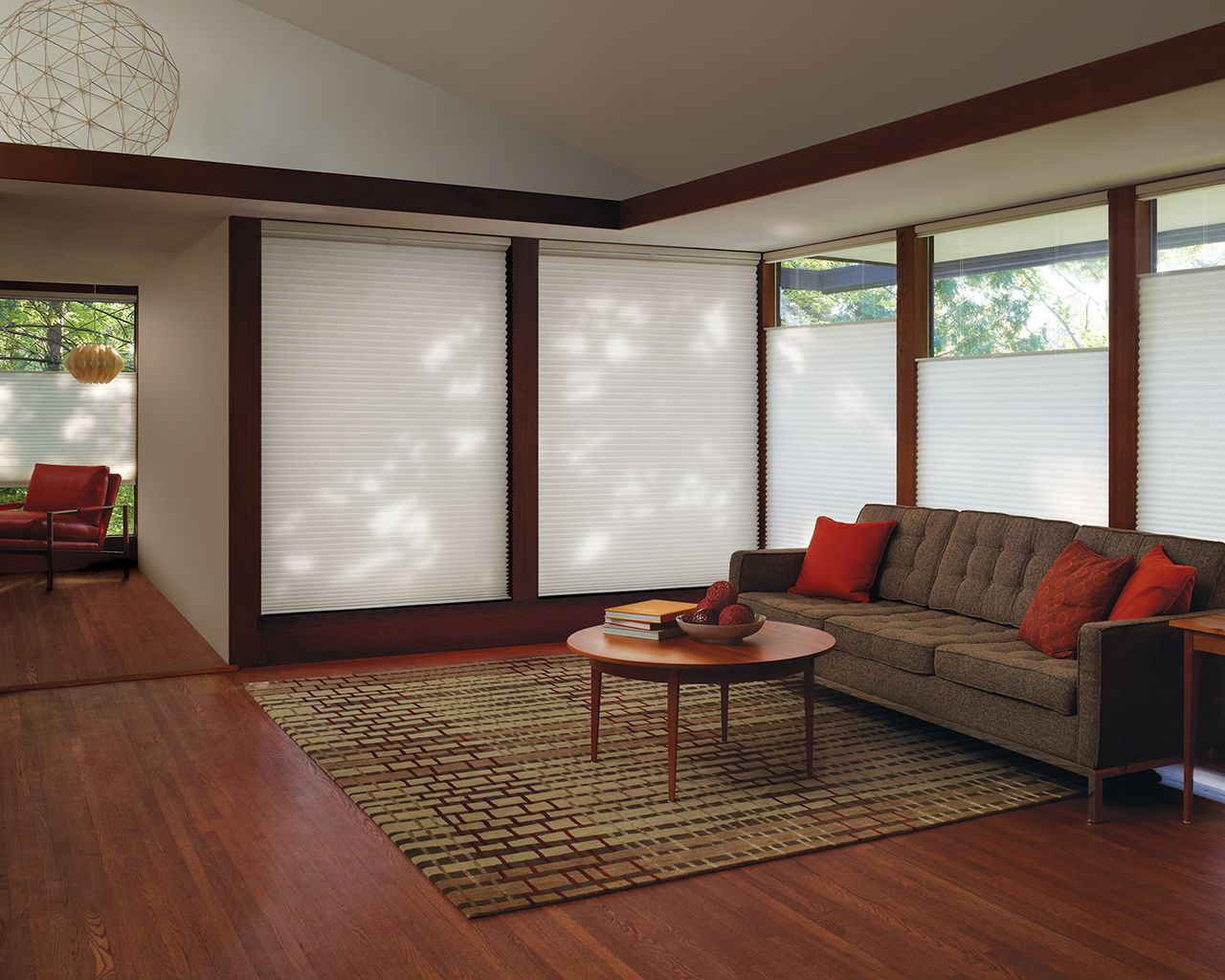 Luxaflex Duette Architella Menage Fabric Effectively Delivers A
