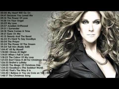 Celine Dion The Best Songs Of Celine Dion Celine Dion S Greatest Hi Celine Dion Songs Celine Dion Greatest Hits Celine Dion Albums